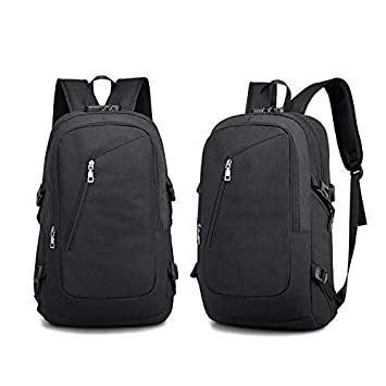 f41f1f59fd VOYARGE-Zhuogu Waterproof Anti-Theft Smart Backpack with USB Charging Port  - Black  Amazon.in  Bags
