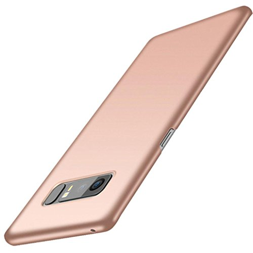 Price comparison product image Iusun Ultra-thin Hard Premium PC Back Case Protective Cover For Samsung Galaxy Note 8 (Rose Gold, Samsung Galaxy Note 8)