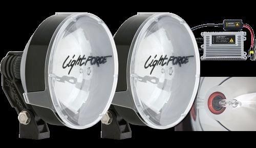 Lightforce RMDL Driving Light 170Mm, Hid Twin Pack 12V 50W Remote Gear 5000K