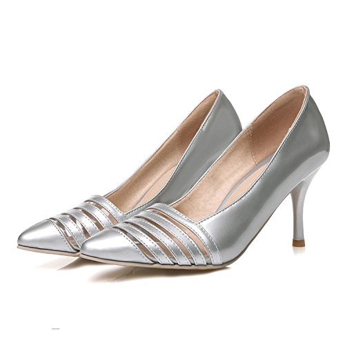 Petites Single Summer 43 Heel do Fashion taille not 2 Pointed Stiletto Bride XDGG And silver Spring Shoes 4 days return Chaussures Femmes Grande chaussures Toe custom fUaqYAwt