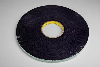 3M (4056-3/4''x-36yd) Double Coated Urethane Foam Tape 4056 Black, 3/4 in x 36 yd 1/16 in [You are purchasing the Min order quantity which is 12 Rolls] by 3M (Image #1)