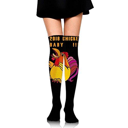 2018!Chicken Baby Womens Girls Sexy Over Knee Leg High Boot Socks Girls Leggings (Ugg 2018 Winter)