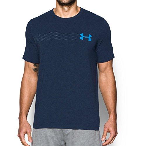 Water Logo Tee - Under Armour Men's Chest Logo T-Shirt, Midnight Navy Medium/Water, XX-Large