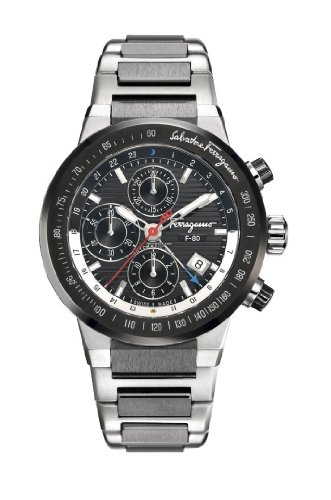 Salvatore-Ferragamo-Mens-F55LCA78910S789-F-80-Titanium-Black-Chronograph-Dial-Watch