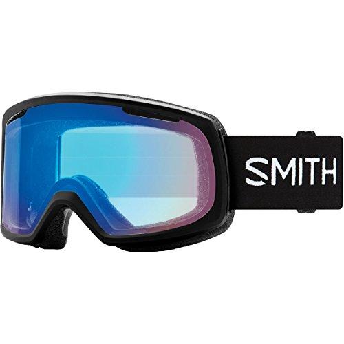 (Smith Optics Riot Women's Snow Goggles - Black/Chromapop Storm Rose Flash/One Size)
