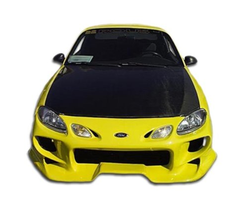 Vader Front Bumper Cover - 1 Piece Body Kit - Fits Ford Escort (Ford Escort Body Kits)