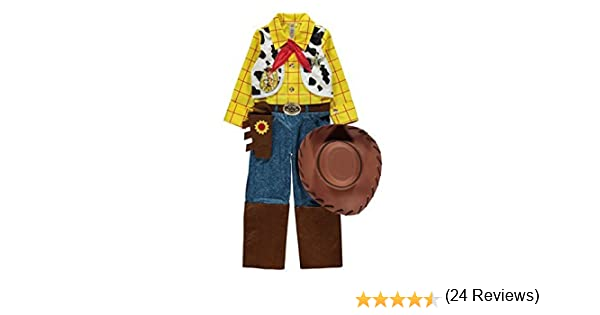 Disney - Disfraz de Woody de Toy Story (edad 2-3 años): Amazon.es ...