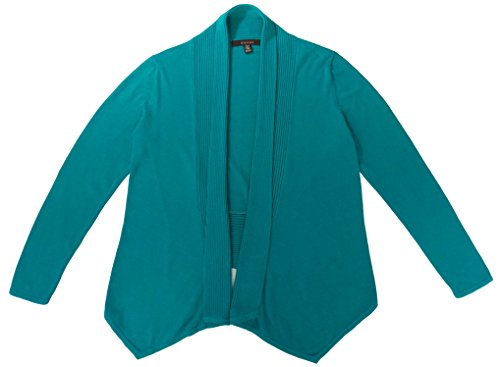 Fever Fly Away Open Cardigan (Emerald Shine, Medium)
