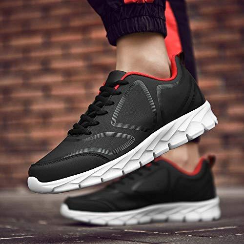 Men's Warm Regalo Corsa Running Natale Sports Oyedens Nero Da Leather Antiscivolo Shoes Stringate Casual Espadrillas Scarpe Sportive Ginnastica Fashion Winter Uomo fvH71n