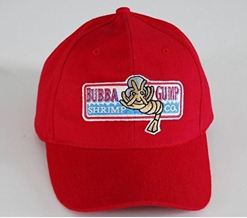 Bubba Gump Shrimp Red Hat Cap
