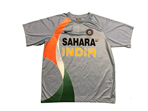 (Nike India ODI Cricket Shirt w/SAHARA Logo)
