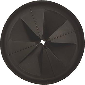insinkerator sink baffle quiet collar black 77960 newest version replaces qcb am - Kitchen Sink Erator