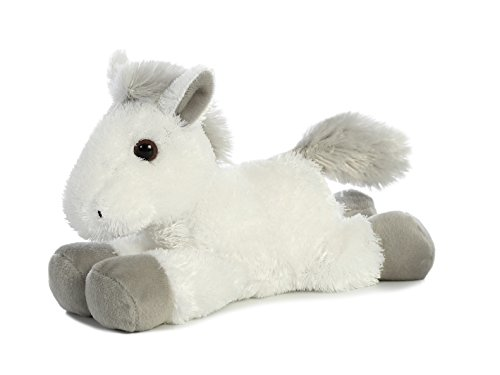 White Plush - Aurora Plush White Horse Cloud Stuffed Animal