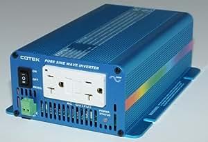COTEK S300-112 12 VOLT 300 WATT MICROPROCESSOR CONTROLLED PURE SINE INVERTER