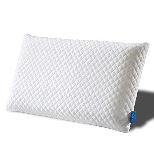 NOFFA Bed Pillows Neck Support Pain Relief Latex Like Foam Hypoallergenic...