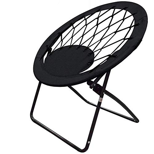 Impact Canopy Bungee Chair, Portable Folding Chair, Web, Black