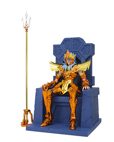 Saint Cloth Myth EX Saint Seiya Emperor Poseidon Imperial Sloan Set About 180 mm ABS & PVC & Die cast painted movable figure (Poseidon Only) japan Import