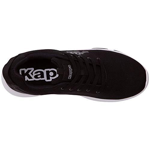 Kappa Basse 1110 white Riken Nero Uomo black Scarpe Ginnastica Da IqrwaCxIp