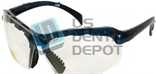 Task Vision Top Bifocal Safety Glasses +1.5 Diopter - # Ts15 122196 US Dental Depot