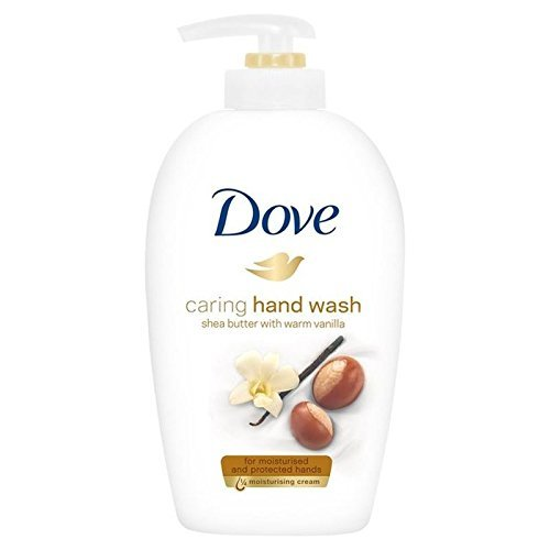 Dove Caring Hand Wash, Shea Butter, 250 Ml / 8.45 Ounce (Pack of 6)