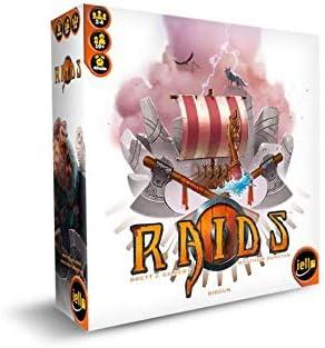 TCG Factory RAIDS Juego de mesa en español para 2 a 4 jugadores, para niños y