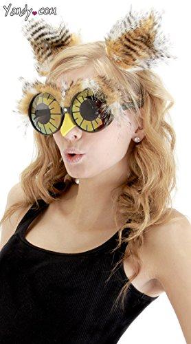 elope Owl Ears & Glasses Set (Owl Glasses Costume)