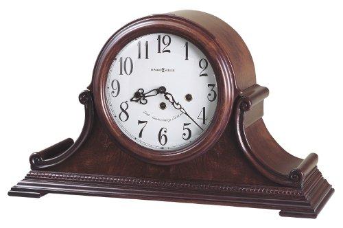 Glass Beaded Veneer Finishes - Howard Miller 630-220 Palmer Mantel Clock