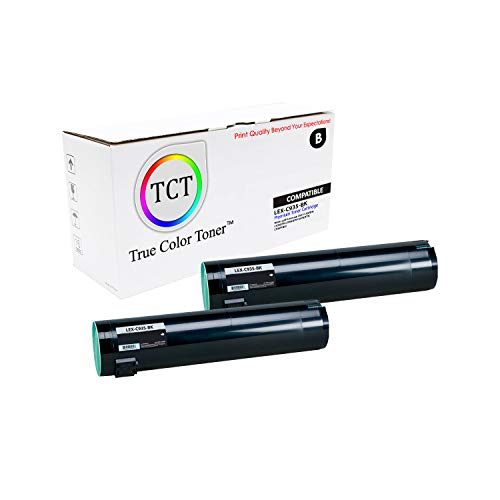 TCT Premium Compatible Toner Cartridge Replacement for Lexmark C939 C935BK Black High Yield Works with Lexmark C930 C935 Printers (32,000 Pages) - 2 Pack