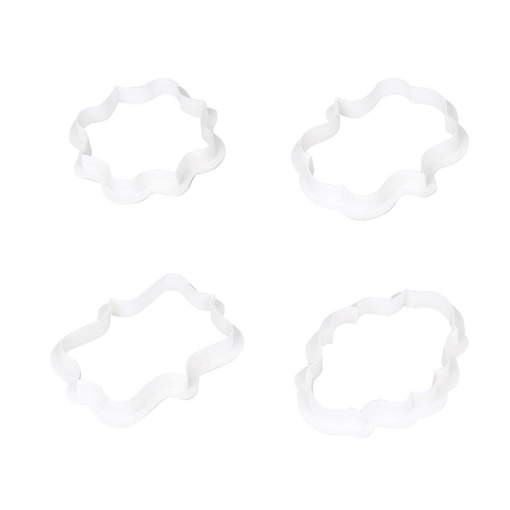GerTong - Molde de plá stico para Tartas con Forma de Caja para Decoració n de Tartas, para Galletas, Cupcakes, Pasteles, Herramientas para Hornear