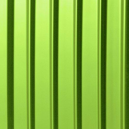 HAUPTSTADTKOFFER® 90 Liter (ca. 65 x 46 x 28 cm) · Hartschalenkoffer · XBERG HK-8280 · TSA Schloss · Farbe: APFELGRÜN GLANZ