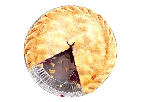 Premium 9'' Aluminum Foil Pie Pans. Disposable Tin Plates for Pies Tart Quiche. (Pack of 50) by Gypsy's Cart (Image #6)