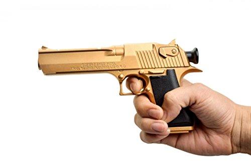 HOTLOVE Desert Eagle Soft Bullet Toy Gun Gold Edition Children'S Simulation Gun Model (2 Pcs/Pack) Sale