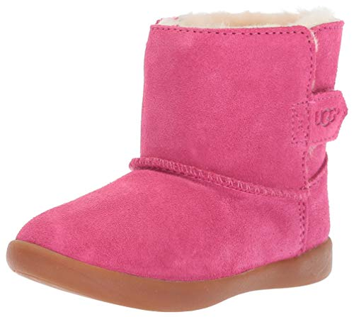 UGG Girls' T Keelan Fashion Boot, Pink Azalea, 9 M US Toddler -