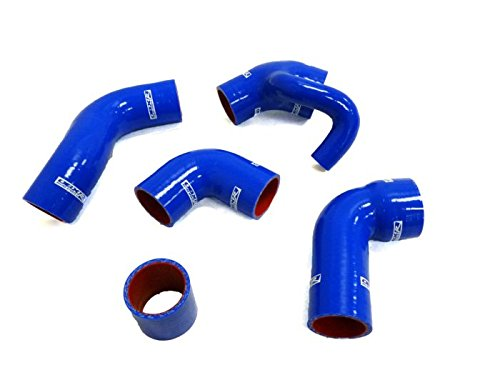 - OBX 96+ Volvo 850 T5/ 850T5R/S70T5/V70T5 OBX Silicone hose kit with Diverter (blowoff) inlet Blue