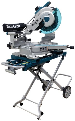 Makita LS1216LX4 12-Inch Dual Slide Compound Miter Saw with Laser and Stand (Makita 12 Sliding Compound Miter Saw Review)