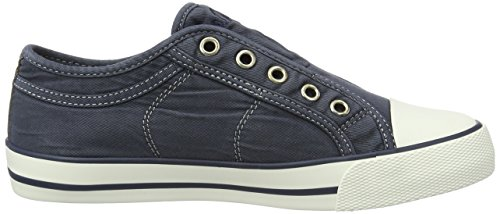 805 Blue navy Sneakers Low 24635 top Women's S oliver q68pPP