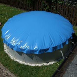 Aufblasbare Abdeckung für Rund Pool mit 350 cm Durchmesser: Amazon ...