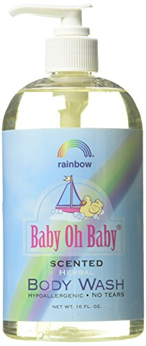 - Rainbow Research Baby Scented Body Wash, 16 Fluid Ounce