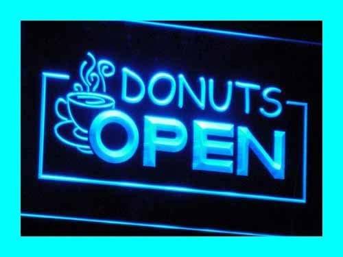 ADV PRO i016-b Donuts Cafe Enseigne Lumineuse Neon Light Sig