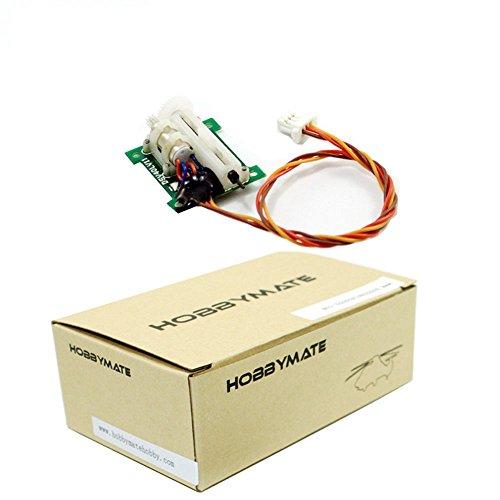 HOBBYMATE 1.5 Gram Linear Servo work with AR6400 AR6400L Ultra-Micro Receiver for Ultra-Micro aircraft