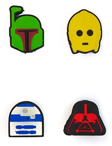Lucas Films Star Wars Puzzle Erasers Set Includes 4 Puzzle Erasers