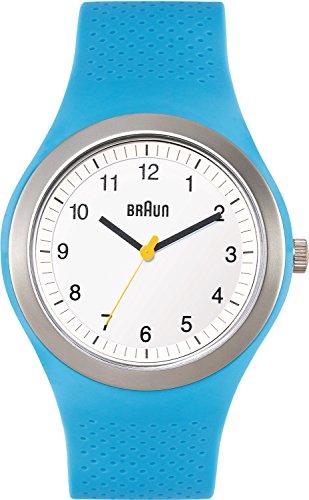 Braun Men's BN0111WHBLG Classic Sports Analog Display Japanese Quartz Blue Watch
