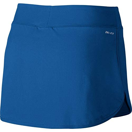 Nike Court Pure Women's Tennis Skirt (X-Small, Blue Jay/White) by Nike (Image #2)