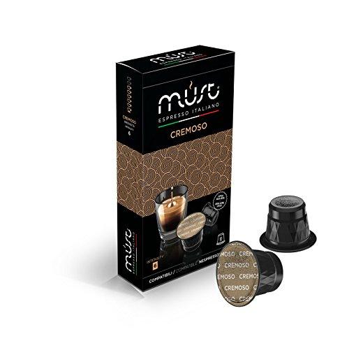Nespresso Compatible Coffee Capsules - MUST Espresso Italiano 100 pack Cremoso