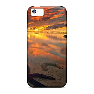 Hot REF2597ixPy Cases Covers Protector For Iphone 5c- Starfish Sunlight