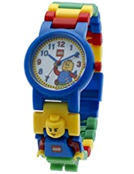 LEGO Classic Kids Minifigure Link Buildable Watch | black/yel...