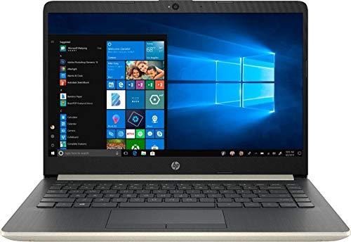 HP 2019 Newest Premium 14 Inch Laptop Notebook Computer, Intel Core i3-7100U, 8GB DDR4 RAM, 512GB SSD, WiFi, Bluetooth, HDMI, Windows 10 W/ Accessories Bundle
