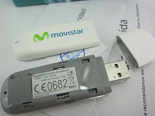Amazon.com: Huawei USB módem 3 G H + gsm desbloqueado e303s ...