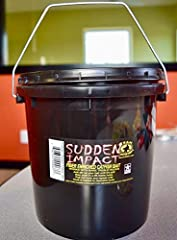 REVOLUTIONARY PRODUCT! FIBER ENRICHED CATFISH BAIT SUDDEN IMPACT is available in 12 oz, 24 oz and 1 Gallon Buckets Sudden Impact bait is loaded with fish attracting ingredients then mixed with long hair like natural fibers that hold onto bare...