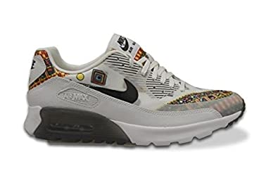 online retailer b8610 33293 nike air max 90 ultra liberty QS womens running trainers 746632 sneakers  shoes, White Black